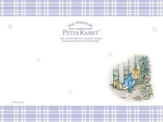 Letter Paper : The World of Peter Rabbit  - Peter Rabbit Pictures - Peter Rabbit Art Wallpaper 21