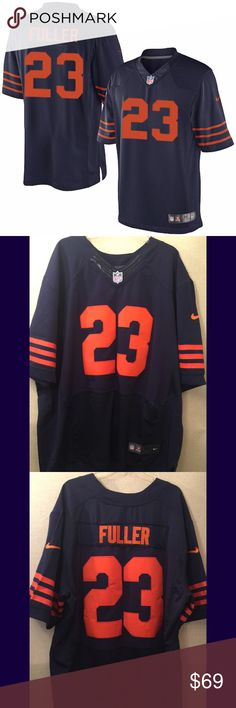 b8846059 KYLE FULLER LIMITED CHI-BEARS THROWBACK JERSEY KYLE FULLER LIMITED CHI-BEARS  THROWBACK JERSEY