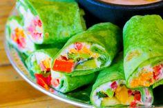 Hemp Hummus Burrito Recipe #hemprecipe