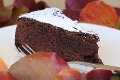 Chocolate Mud Cake - The Allergy cake- eggs free, dairy free, gluten free, nut free
