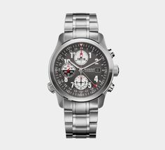 Bremont Chronograph ALT1-Z ZULU - local time and UTC time display, 42-hour power reserve, scratch resistant PVD treated case barrel, inner bi-directional Roto-Click bezel, water resistant to 100m, anti-reflective and scratch resistant sapphire crystal, COSC chronometer tested, 3-year warranty Price: $6,050