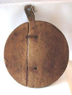 Early Peel with make~do repairs~flat boards  for carrying loaves, pies, etc., into or out of an oven