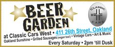 Oakland's downtown monthly murmur event and saturday beer garden web-banner-ad