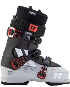 Descendant 100 All Mountain Performance and Comfort One of the easiest ski boots to put on, the Full Tilt Descendant 100 is the perfect boot for anyone looking to ski all over the mountain in comfort. Equipped with an 8 / 100 flex tongue, intuition pro liner, and Grip Walk outsoles, the Descendant 100 is perfect for the all mountain skier that doesn't want the hassle of cramming into a tight ski boot. Spacious comfort paired with all mountain performance!