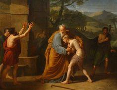 Michel Martin Drolling: El hijo pródigo, 1806.