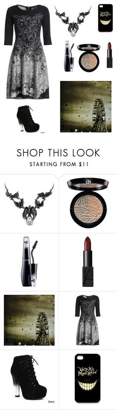 """""""Attending the freak show"""" by abbimurf ❤ liked on Polyvore featuring Giorgio Armani, Lancôme, NARS Cosmetics, NIC+ZOE, Fahrenheit, women's clothing, women, female, woman and misses"""