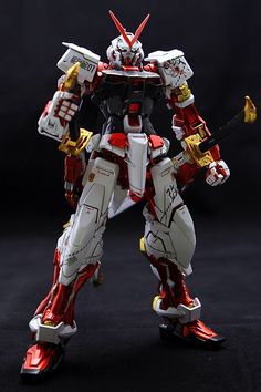 MG 1/100 MBF-P02KAI Gundam Astry Red Frame Kai - Painted Build Modeled by j hondeen