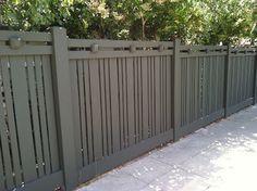 Kate Presents: Designer fence in Mission Hills landscape