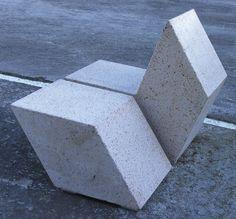 Concrete chair for public spaces - 108 by Enric Batlle & Joan Roig - ArchiExpo