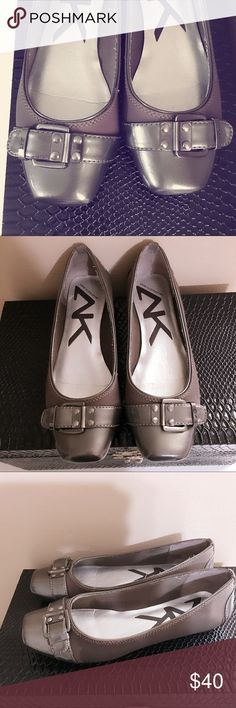 Anne Klein Sport flats Anne Klein Sport flats. Good condition, looking like new, very comfortable and easy to wear. They will complete a fashionable casual look. Anne Klein Sport Shoes Flats & Loafers