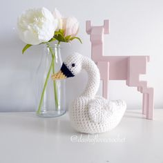 Introducing Aria the swan! The perfect addition to you or your little ones room! Isn't she perfect!  #crochetswan #crochet #amigurumi #amigurumiswan #dashoflove #dashoflovecrochet #dolcrochet #ilovecrochet #swan #handmade #handcrafted #nursery #instacrochet #babydecor #crochetdoll #crochetgift #giftideas #handmadedoll #nurserydecor Pattern by Amy Gaines by dashoflovecrochet