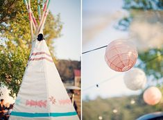Bohemian farmhouse wedding.