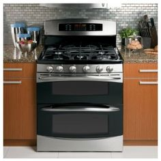30 Freestanding Gas Range 5 Sealed Burners Convection Double Oven