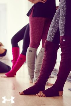 Leg Warmers. These things are on pointe. Seriously cozy and built to stay put.