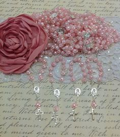 25 pcs Pearl First communion favors Recuerditos by AVAandCOMPANY, $15.99