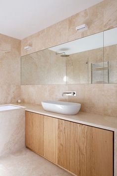 Love this natural wood look? Get it in your bathroom thanks to RAUVISIO terra: http://na.rehau.com/terra