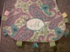 cute burp cloth idea