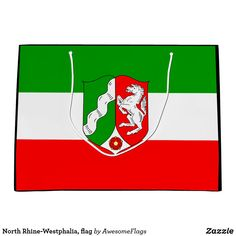 Shop North Rhine-Westphalia, flag Large Gift Bag created by AwesomeFlags. North Rhine Westphalia, Large Gift Bags, Flag, Gifts, Presents, Science, Favors, Flags, Gift