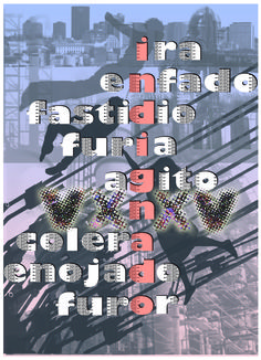 Indigna2. Diseño de Carlos Santana.