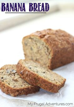 Copycat Starbucks Banana Bread recipe- absolutely delicious and a perfect homemade gift!