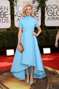 The best of the Golden Globes 2014 red carpet. Click for the rest!