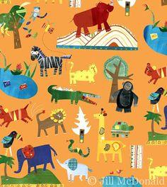 Safari - by Jill McDonald