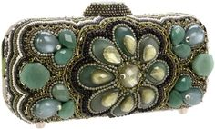 Mary Frances 11-350 Agave Clutch - Mary Frances Accessories
