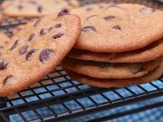 Thin & Crispy Chocolate Chip Cookies Recipe | Divas Can Cook