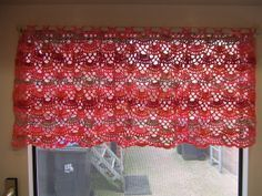 My world of crochet: curtain: pattern
