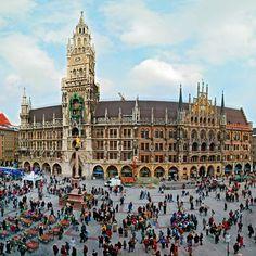 Marienplatz, München, Deutschland