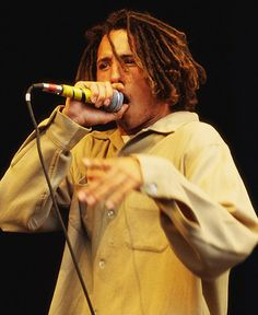 Rage Against The Machine's Zack de la Rocha in 1993