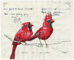 Fran Giffard: Illustrations on Moleskin Pages