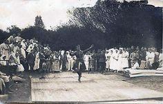 Danse écossaise militaire en kilt - ANGICOURT (Oise - 60) - 18 juillet 1918.