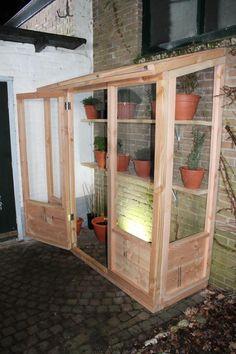 Diy Greenhouse Plans, Backyard Greenhouse, Small Greenhouse, Farm Gardens, Outdoor Gardens, Modern Courtyard, Interior Garden, Cool Rooms, Garden Planning