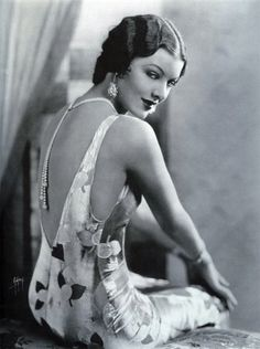 Myrna Loy, 1920's the twenties styles are coming back again.