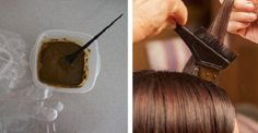 How to Dye Your Hair Naturally:This Amazing Recipe Will Make Your Hair Perfect! As reported by English scientist, hair dyes contain chemicals which can be correlated with cancer. 87 to 100 of women, who died their hair during a long time period, have s Dyed Natural Hair, Dyed Hair, Natural Hair Styles, Hair A, Your Hair, You Are Perfect, Tips Belleza, How To Make Hair, Hair Growth