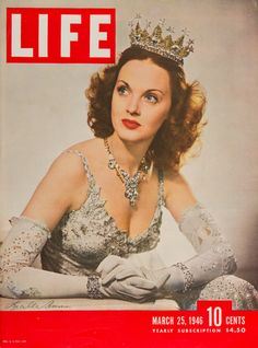 "Life Magazine cover, ""Lucille Bremer, Fred Astaire's dancing partner"", March 25, 1946"