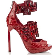Jimmy Choo 2015 - Ruby Crystal Sandal