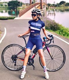 Girls can ride bikes, and our first aim is to get society accustomed to the sight of a girl on a bike. Cycling Wear, Cycling Girls, Cycling Outfit, Cycling Clothes, Triathlon, Female Cyclist, Cycle Chic, Road Bike Women, Bicycle Girl
