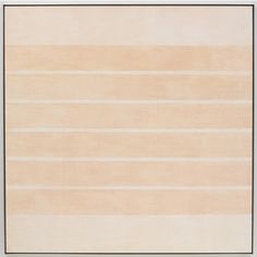"acrylic and graphite on canvas, 60"" x 60"" (152.4 cm x 152.4 cm), © 2002 Agnes Martin /Artists Rights Society (ARS), New York / Photo by Kerry Ryan McFate"