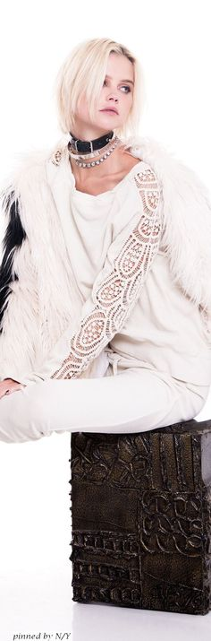 Pam & Gela - Fall Winter 2016/2017 Bohemian Style, Boho Chic, Pam & Gela, Fur Jacket, Fashion Boots, Knitwear, Personal Style, Womens Fashion, Fashion Trends