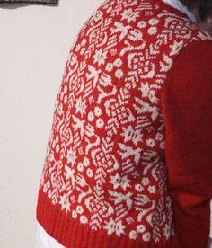 三國万里子さんのデザイン、かわいい★ - 大阪のニットカフェ・初心者もできる!イギリス伝統の編み物「フェアアイル」