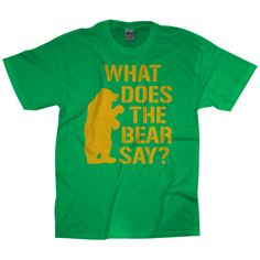 What Does the Bear Say? Tee // #SicEm! #Baylor