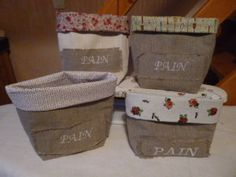 Vide Poche, Shabby Vintage, Purses And Bags, Sewing Projects, Entourage, Blog, Articles, Basket, Boutique