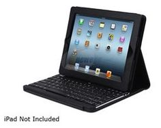 Bluetooth Wireless Switch Keyboard with Carrying Case for iPad