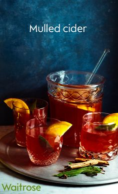 Mulled cider is a perfect warming drink for the Christmas period. A little sweetness from sloe gin gives a fruity kick, but if you prefer to enjoy it with less alcohol, add a little honey instead. Find more delicious drinks recipes on the Waitrose website.