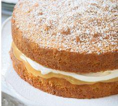 Lemon Curd Cake Recipe | I love my food