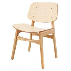 Natural Børge Mogensen Soborg Dining Chair
