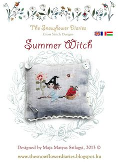 The Snowflower Diaries: A WITCH WITH SWEETS:-) Nina's Threads: Mossy Brick, Valentine, Ginger, Moss, Caribbean, Malawi, Butter Squash, Vanilla, Peony