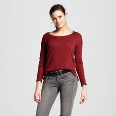 Women's Scoop Neck Sweater